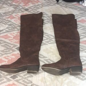 Tall Brown Rampage Boots